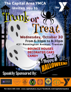 TRUNK OR TREAT @ CAPITAL AREA YMCA | Trenton | New Jersey | United States
